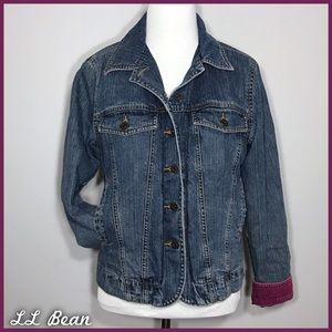 LL Bean Jean Jacket